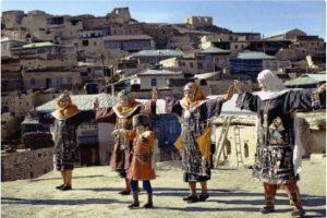 Обрядовый балхарский танец