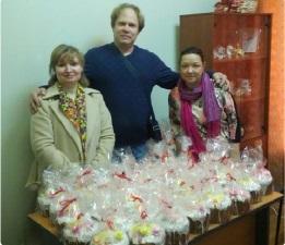 Посещение общества инвалидов в районе Восточное Дегунино города Москвы